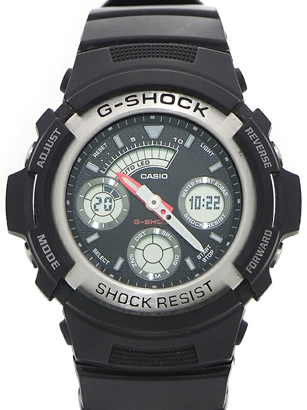 �yCASIO G-SHOCK�z�y�e15�N�w��z�J�V�I�wG�V���b�N �f�W�A�i�xAW-590-1AJF �����Y �N�H�[�c 1�T�ԕۏy���Áz
