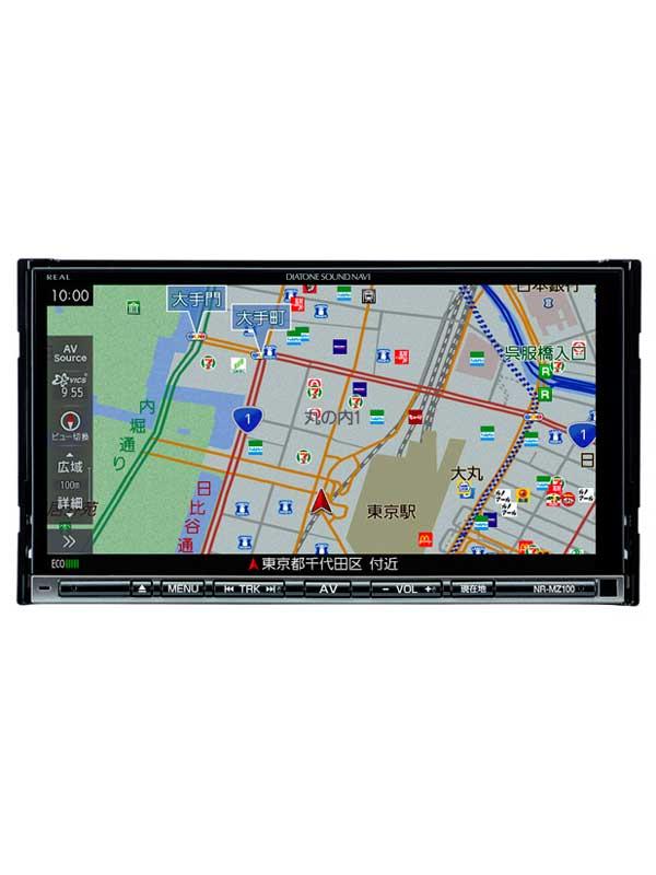 三菱電機『DIATONE SOUND.NAVI』NR-MZ100 7V型WVGA フルセグ/ワンセグ モリーナビゲーション DVD/CD Bluetooth【新品】