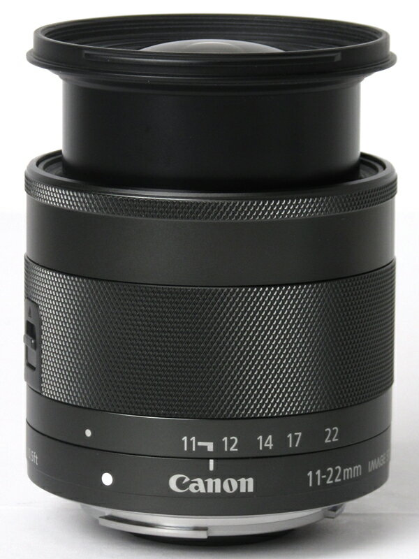�L���m���wEF-M11-22mm F4-5.6 IS STM�xEF-M11-22ISSTM 18-35mm���� �~���[���X���J�����p�����Y 1�T�ԕۏ؁y���Áz