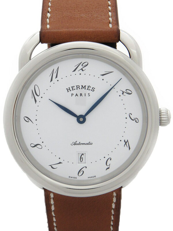 【HERMES】エルメス『アルソー』AR7.710 メンズ 自動巻き 1ヶ月保証【中古】