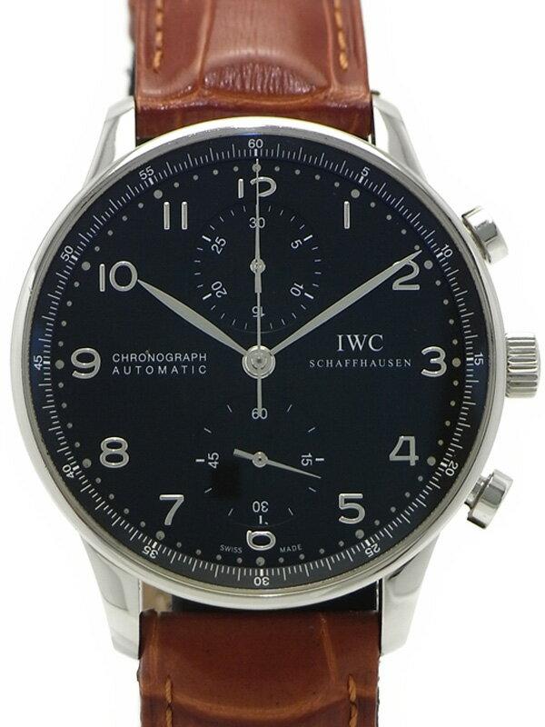 【IWC】インターナショナルウォッチカンパニー『ポルトギーゼ クロノグラフ』IW371438 メンズ 自動巻き 6ヶ月保証【中古】
