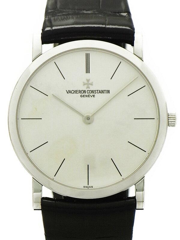 【VACHERON CONSTANTIN】【WGケース】【仕上済】ヴァシュロンコンスタンタン『ラウンドウォッチ』メンズ 手巻き 6ヶ月保証【中古】