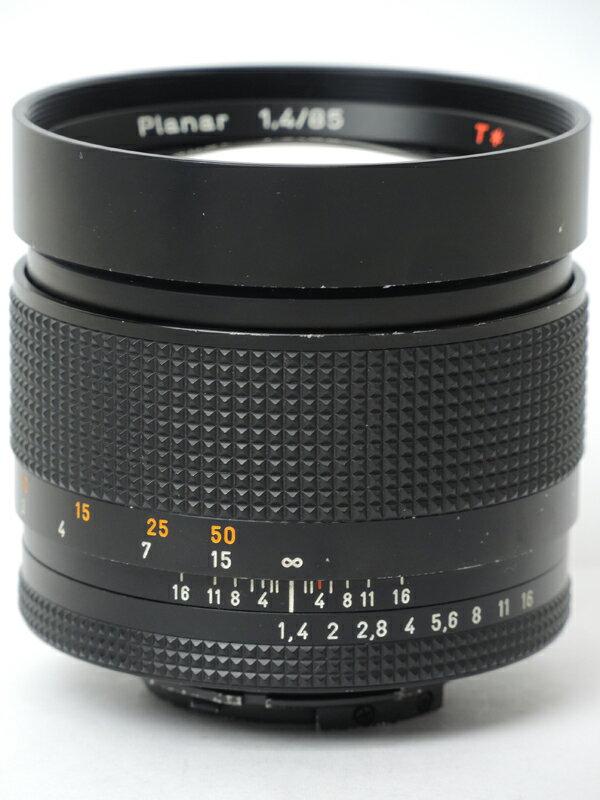 �yCONTAX�z�R���^�b�N�X�wPlanar T* 85mm F1.4�xY/C �J�[���c�@�C�X ���t�J�����p�����Y 1�T�ԕۏy���Áz