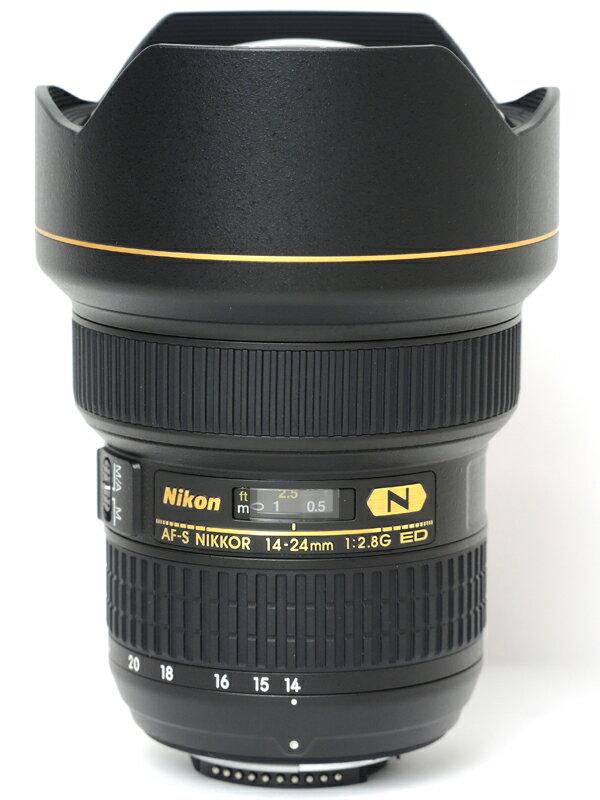 �yNikon�z�j�R���wAF-S NIKKOR 14-24mm f/2.8G ED�xAFS14-24G FX�t�H�[�}�b�g �f�W�^�����t�J�����p�����Y 1�T�ԕۏy���Áz