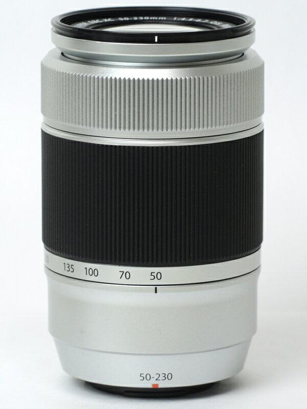 �yFUJIFILM�z�x�m�t�C�����wFUJINON XC50-230mmF4.5-6.7 OIS�x�V���o�[ 76-350mm���� �]���Y�[�� �~���[���X���J�����p�����Y 1�T�ԕۏy���Áz