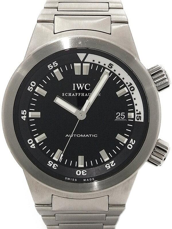 【IWC】【OH・仕上済】インターナショナルウォッチカンパニー『アクアタイマー オートマティック』IW354805 メンズ 自動巻き 3ヶ月保証【中古】