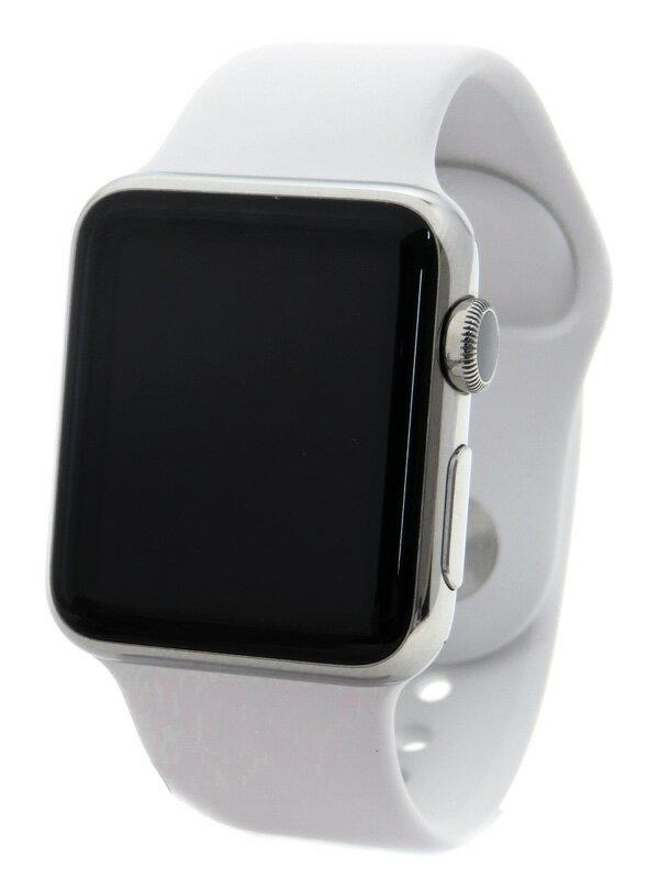 �yApple�z�y�A�b�v���E�H�b�`�z�A�b�v���wApple Watch 38mm�xMJ302J/A ���j�Z�b�N�X �z���C�g�X�|�[�c�o���h �r���v�^�[�� 1�T�ԕۏy���Áz