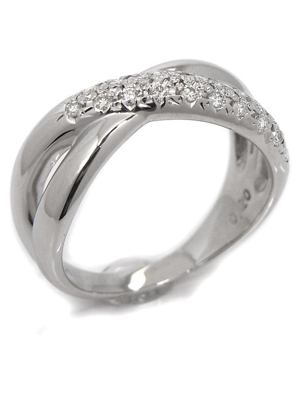 【TASAKI】【仕上済】タサキ『PT900リング ダイヤモンド0.20ct』12号 1週間保証【中古】