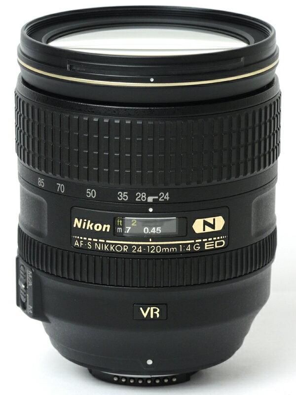 �yNikon�z�j�R���wAF-S NIKKOR 24-120mm f/4G ED VR�xAFSVR24-120G FX�t�H�[�}�b�g �f�W�^�����t�J�����p�����Y 1�T�ԕۏy���Áz