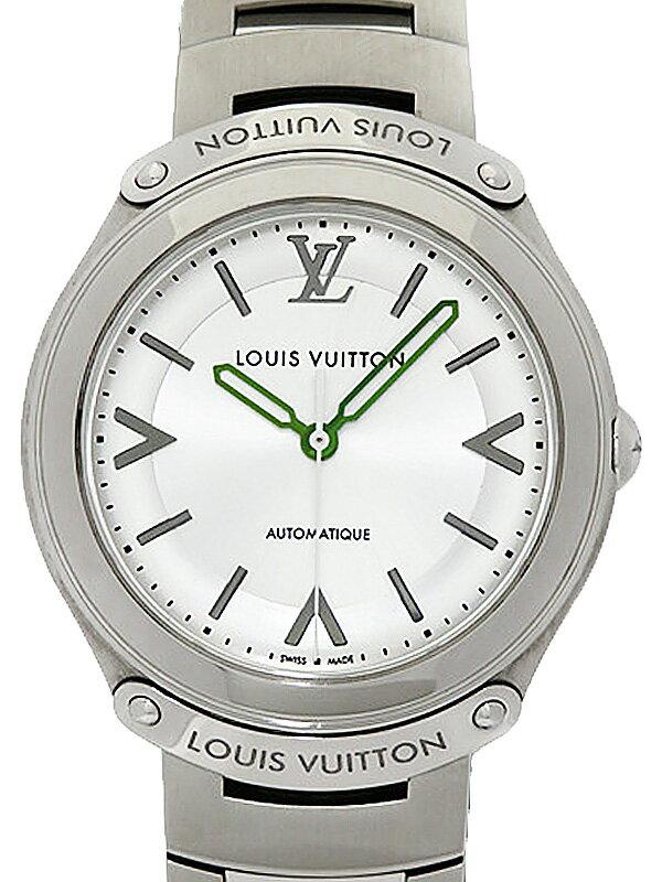 【LOUIS VUITTON】【'15年購入】ルイヴィトン『フィフティファイブ オートマティック』Q6G200 メンズ 自動巻き 3ヶ月保証【中古】