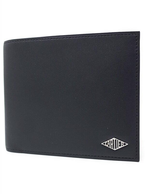【CARTIER】【小銭入れなし】カルティエ『ルイ カルティエ 6クレジットカード ウォレット』L3001408 メンズ 二つ折り短財布 1週間保証【中古】