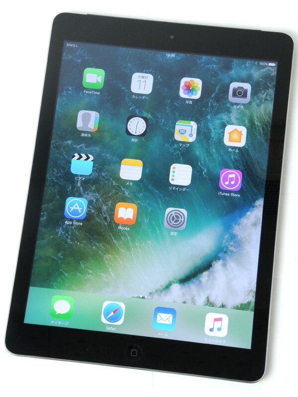 �yApple�z�A�b�v���wiPad Air Wi-Fi + Cellular 64GB SoftBank�xMD793J/A �X�y�[�X�O���C ������ �^�u���b�g�y���Áz
