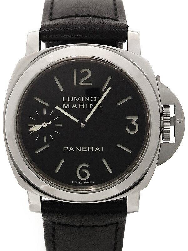 【PANERAI】【裏スケ】パネライ『ルミノールマリーナ 44mm』PAM00111 I番'06年製 メンズ 手巻き 6ヶ月保証【中古】