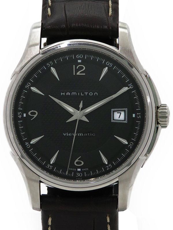 【HAMILTON】【裏スケ】ハミルトン『ジャズマスター ビューマチック』H32515535 メンズ 自動巻き 1週間保証【中古】