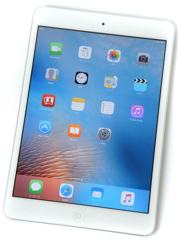 �yApple�z�A�b�v���wiPad mini Wi-Fi 16GB�xMD531J/A �z���C�g iOS9.3.5 7.9�^ �^�u���b�g�y���Áz