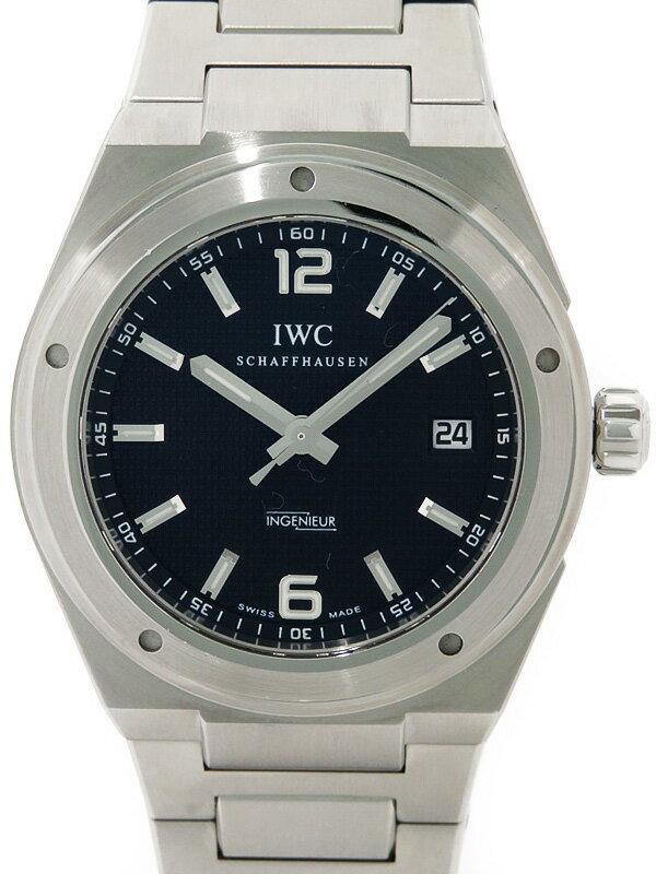 【IWC】【仕上済】インターナショナルウォッチカンパニー『インヂュニア オートマティック』IW322701 メンズ 自動巻き 3ヶ月保証【中古】