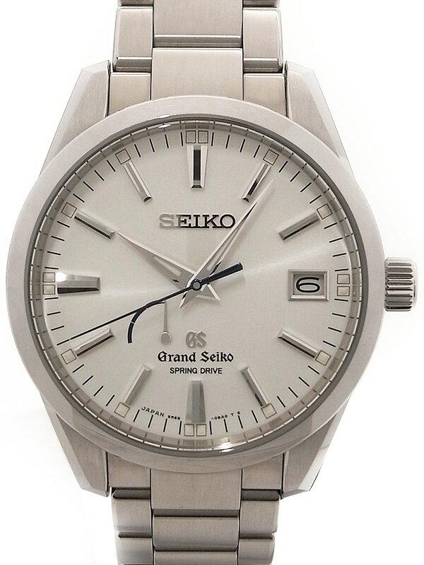 【SEIKO】【'15年購入】セイコー『グランドセイコー』SBGA099 メンズ スプリングドライブ 3ヶ月保証【中古】