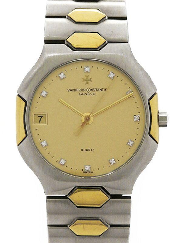 【VACHERON CONSTANTIN】【電池交換済】ヴァシュロンコンスタンタン『333 11Pダイヤ』メンズ クォーツ 3ヶ月保証【中古】