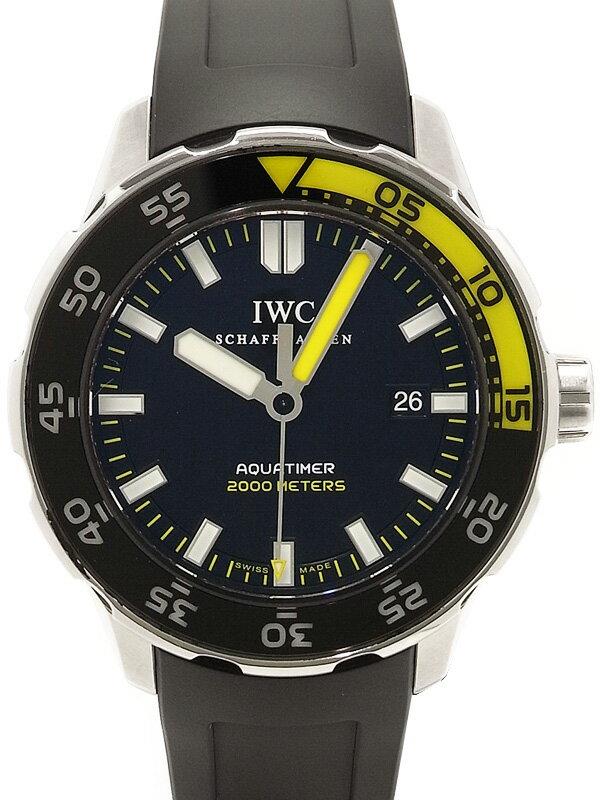 【IWC】インターナショナルウォッチカンパニー『アクアタイマー オートマチック 2000』IW356810 メンズ 自動巻き 3ヶ月保証【中古】