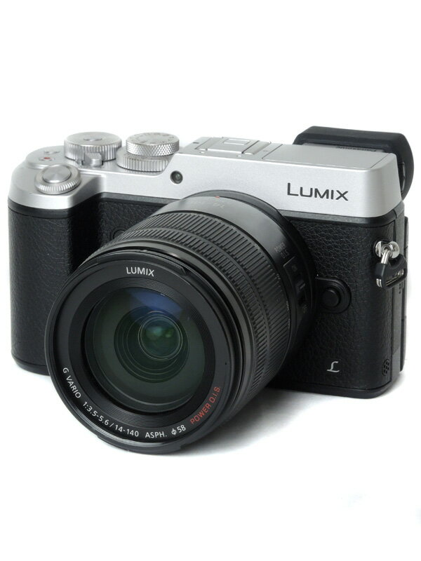 【Panasonic】パナソニック『LUMIX(ルミックス) GX8 高倍率レンズキット』DMC-GX8H-S シルバー 2030万画素 4K動画 ミラーレス一眼カメラ【中古】