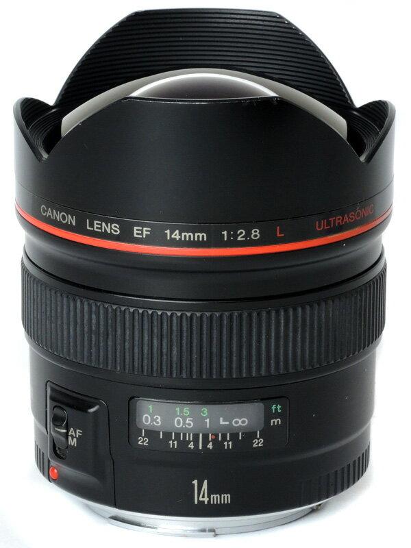 【Canon】キヤノン『EF14mm F2.8L USM』EF1428L 超広角 一眼レフカメラ用レンズ 1週間保証【中古】