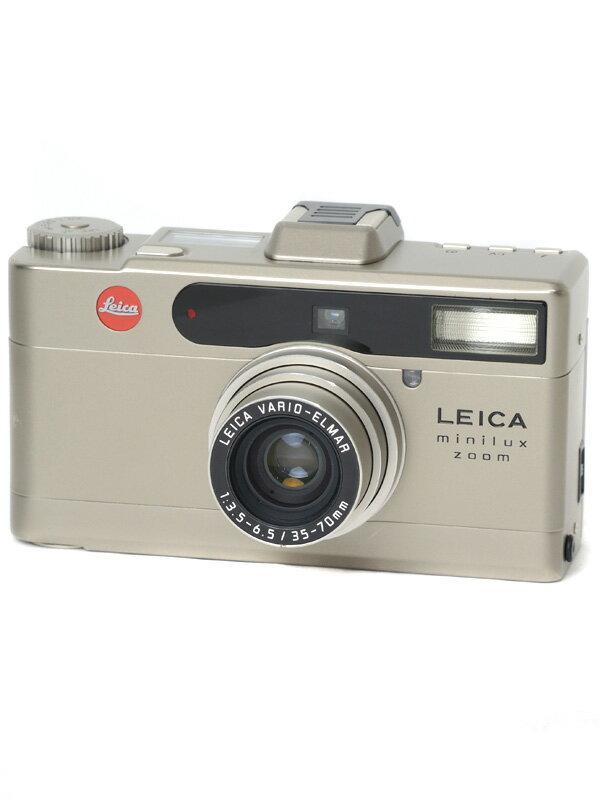 【Leica】ライカ『minilux zoom』バリオエルマー35-70mm コンパクトフィルムカメラ 1週間保証【中古】