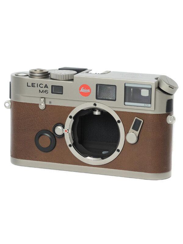 【Leica】ライカ『M6 TTL 0.72』10435 チタン 35mmフィルム レンジファインダーカメラ 1週間保証【中古】