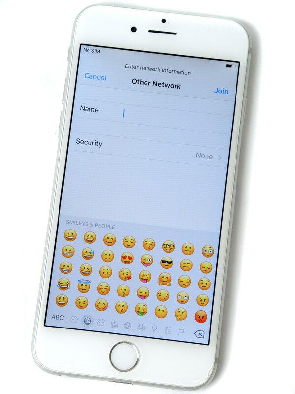 【Apple】アップル『iPhone 6 64GB au』NG4H2J/A シルバー iOS10.1.1 4.7型 白ロム ○判定 スマートフォン【中古】