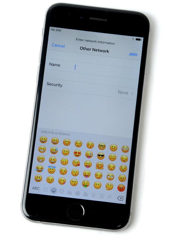 【Apple】アップル『iPhone 6 64GB SoftBank』MG4F2J/A スペースグレイ iOS10.1.1 4.7型 白ロム ○判定 スマートフォン【中古】
