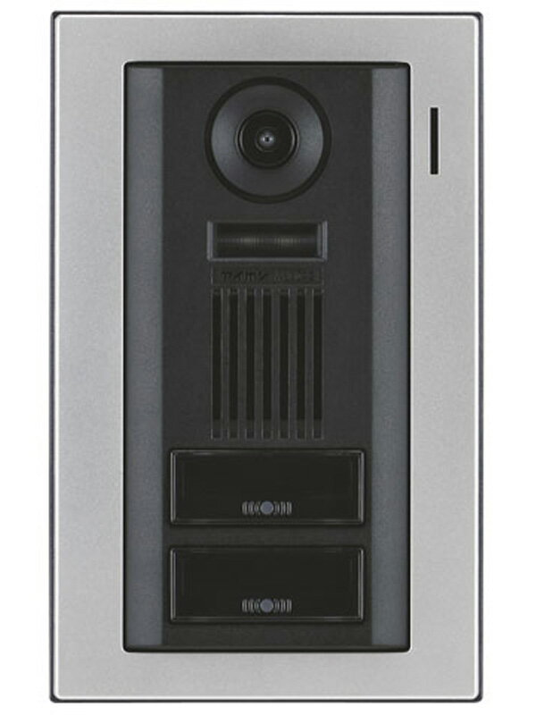 【AIPHONE】アイホン『カメラ付玄関子機』WJ-DA2 二世帯用 LED夜間照明 ドアホン【新品】