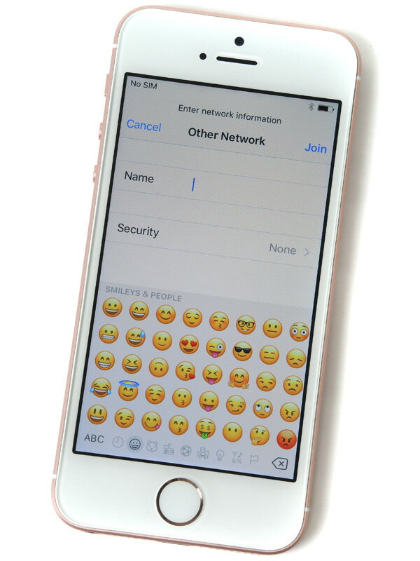【Apple】アップル『iPhone SE 64GB docomo』MLXQ2J/A ローズゴールド iOS10.1.1 4型 白ロム ○判定 スマートフォン【中古】