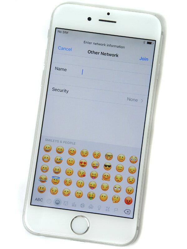 【Apple】アップル『iPhone 6 16GB au』MG482J/A シルバー iOS10.1.1 4.7型 白ロム ○判定 スマートフォン【中古】