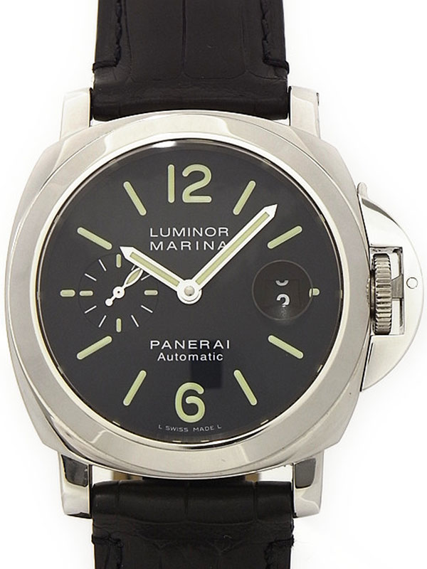 【PANERAI】パネライ『ルミノールマリーナ 44mm』PAM00104 メンズ 自動巻き 6ヶ月保証【中古】