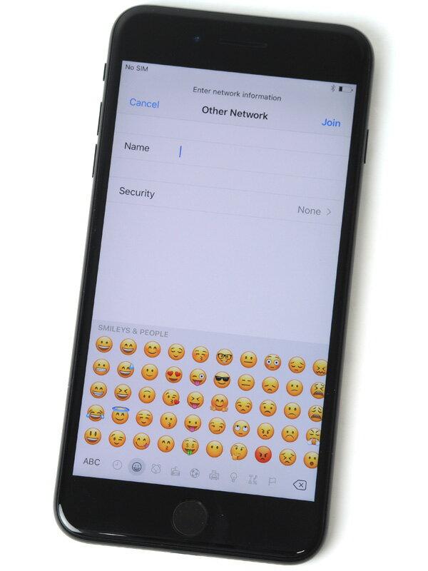 【Apple】アップル『iPhone 7 Plus 128GB docomo』MN6K2J/A ジェットブラック iOS10.1.1 5.5型 白ロム ○判定 スマートフォン【中古】