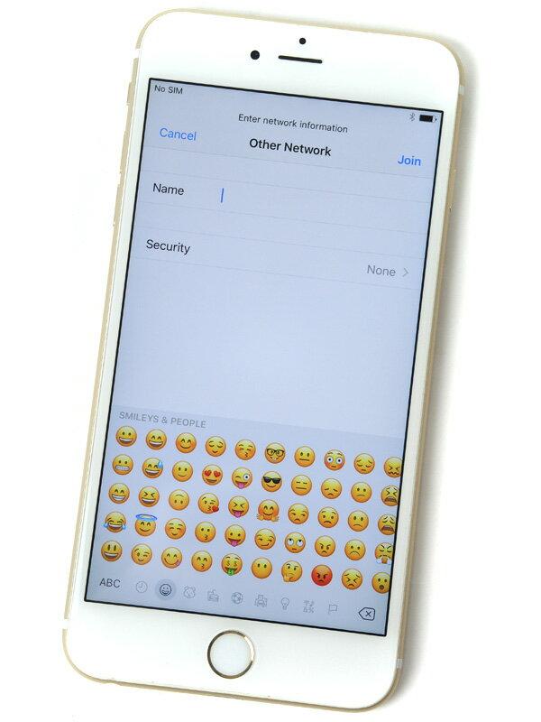 【Apple】アップル『iPhone 6s Plus 64GB au』NKU82J/A ゴールド iOS10.1.1 5.5型 白ロム ○判定 スマートフォン【中古】