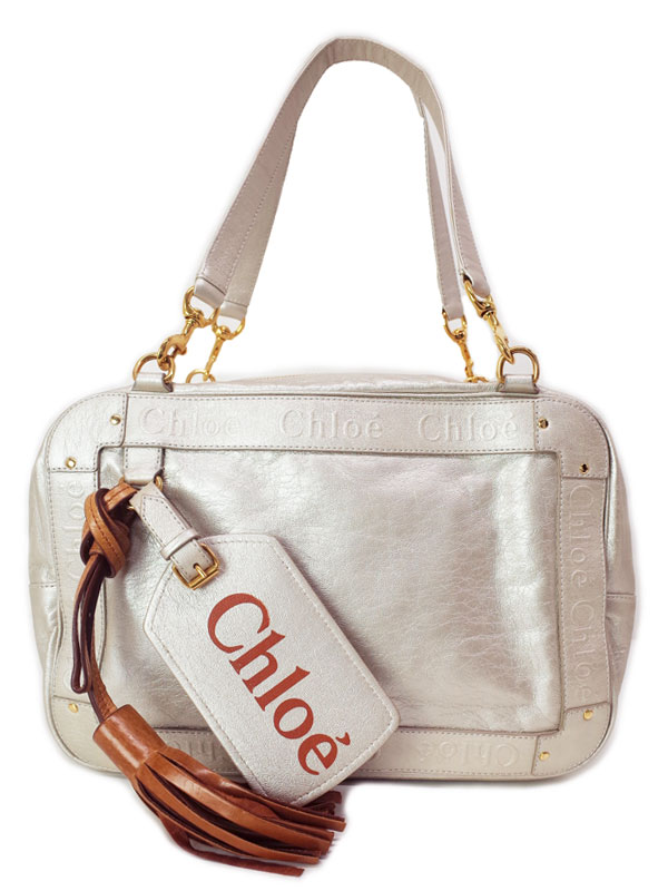 【Chloe】クロエ『エデン ミニボストンバッグ』レディース ハンドバッグ 1週間保証【中古】