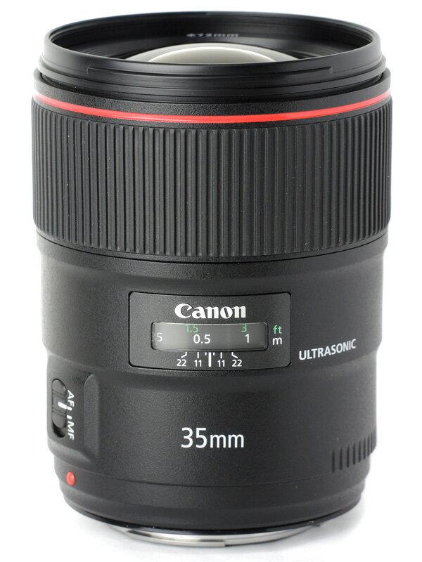【Canon】キヤノン『EF35mm F1.4L II USM』EF3514L2 広角 一眼レフカメラ用レンズ 1週間保証【中古】