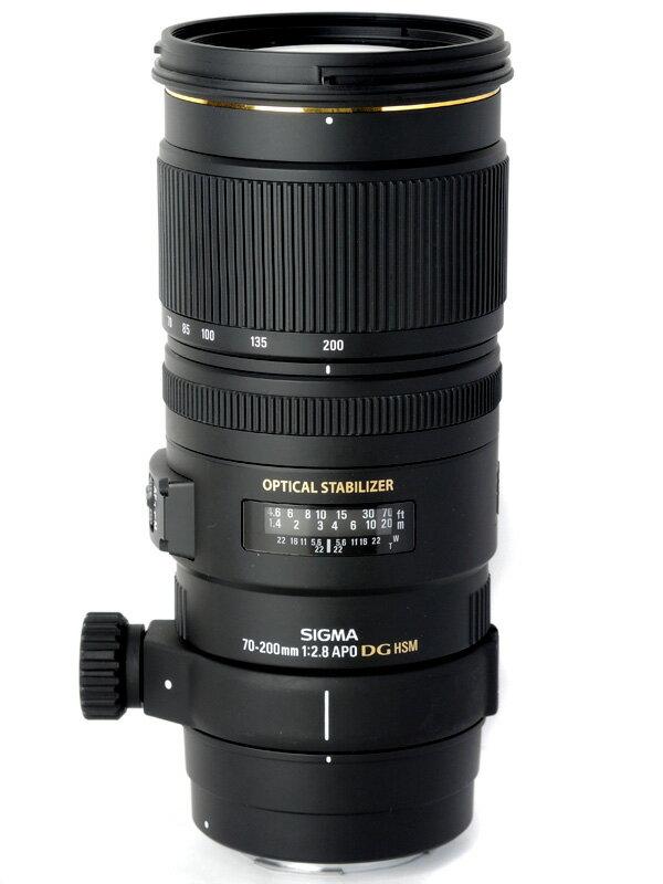 【SIGMA】シグマ『APO 70-200mm F2.8 EX DG OS HSM』キヤノンマウント デジタル一眼レフカメラ用レンズ 1週間保証【中古】