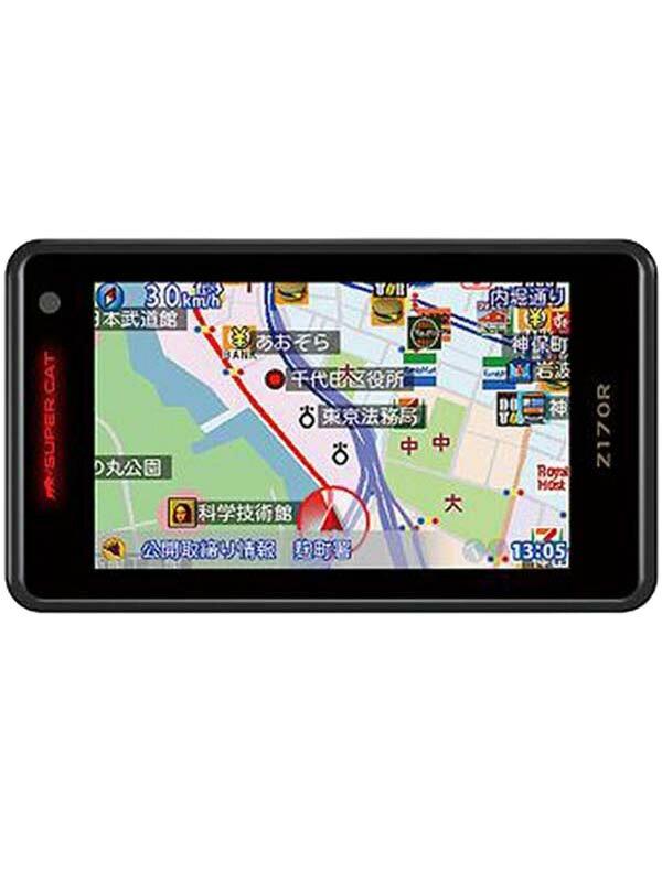 【Yupiteru】ユピテル『SuperCat(スーパーキャット) Zシリーズ』Z170R 3.6型 1ボディタイプ GPS&レーダー探知機【新品】