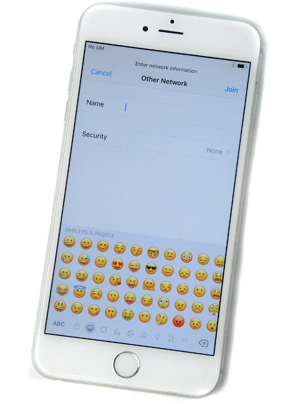 【Apple】アップル『iPhone 6 Plus 128GB SoftBank』MGAE2J/A シルバー iOS10.1.1 5.5型 白ロム ○判定 スマートフォン【中古】