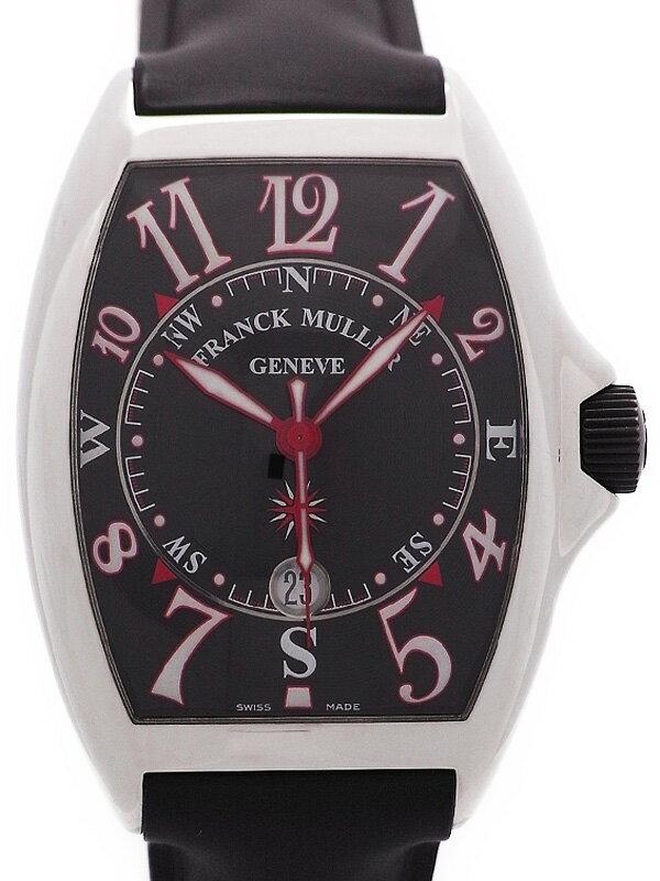 【FRANCK MULLER】【訳有特価】【OH済】フランクミュラー『マリナー』8080SC メンズ 自動巻き 6ヶ月保証【中古】