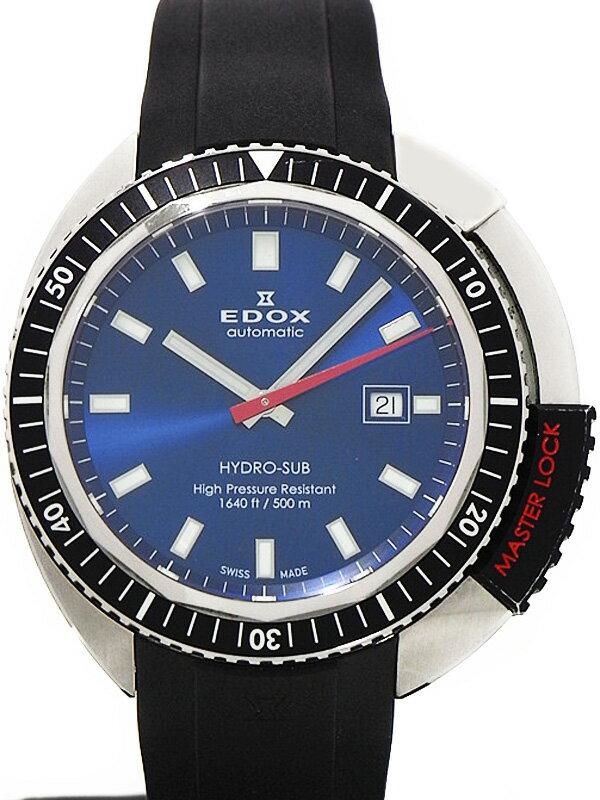 【EDOX】エドックス『ハイドロサブ オートマチック』80301-3NM-BUIN メンズ 自動巻き 1ヶ月保証【中古】