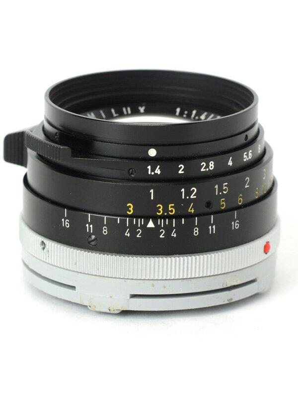 【Leica】ライカ『ズミルックス35mm F1.4 第2世代』2167293 レンジファインダーカメラ用 レンズ 1週間保証【中古】