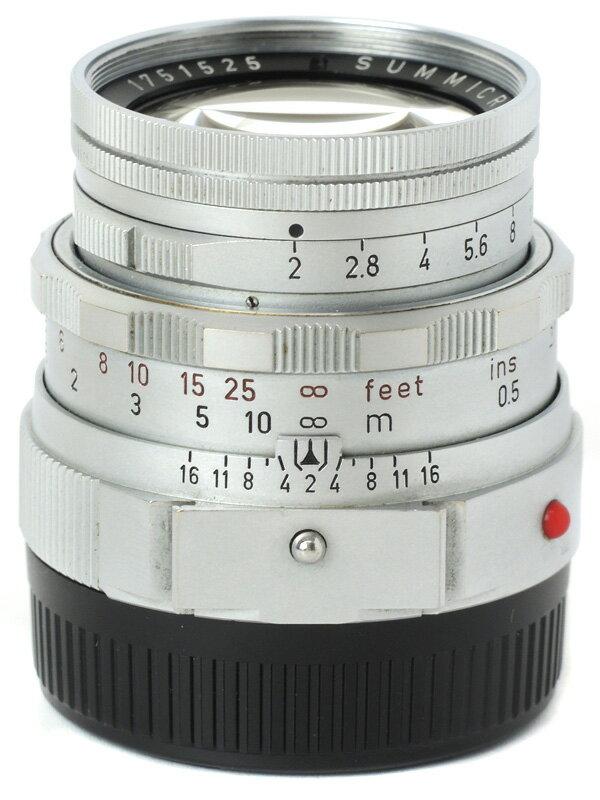 【Leica】ライカ『DRズミクロン50mmF2』1751525 Mマウント 眼鏡なし レンジファインダーカメラ用レンズ 1週間保証【中古】