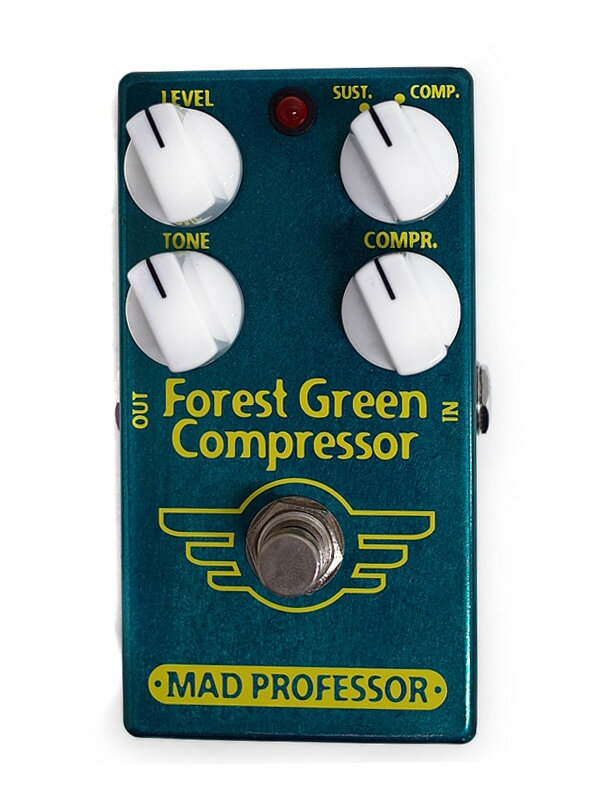 【MAD PROFESSOR】マッドプロフェッサー『コンプレッサー』Forest Green Compressor エフェクター 1週間保証【中古】