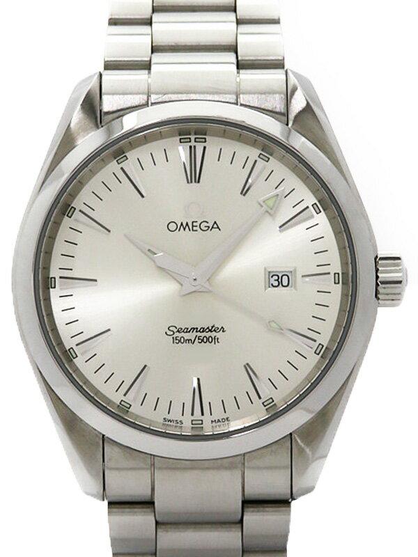 【OMEGA】オメガ『シーマスター アクアテラ』2517.30 メンズ クォーツ 1ヶ月保証【中古】