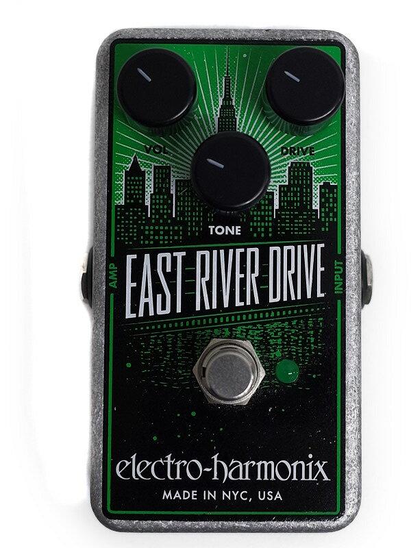 【electro-harmonix】エレクトロハーモニックス『オーバードライブ』EAST RIVER DRIVE コンパクトエフェクター 1週間保証【中古】