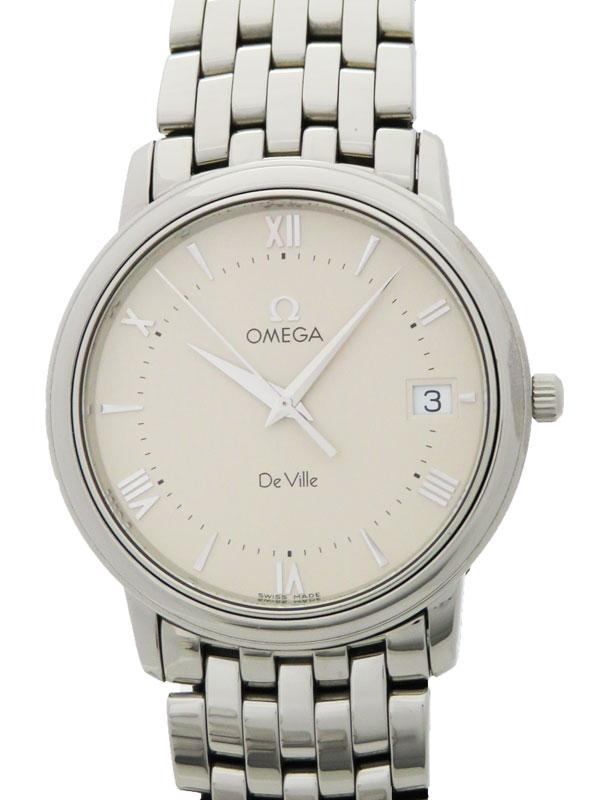 【OMEGA】【OH・電池交換済】オメガ『デビル』メンズ クォーツ 1ヶ月保証【中古】