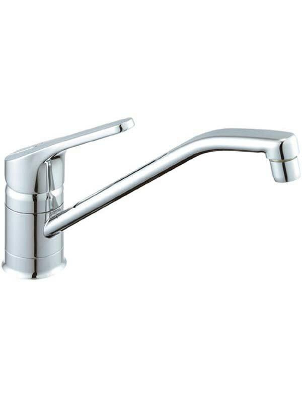 【INAX】イナックス『シングルレバー混合水栓』SF-HB420SYX 台付 クロマーレ エコハンドル キッチン水栓【中古】