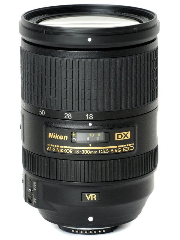 【Nikon】ニコン『AF-S DX NIKKOR 18-300mm f/3.5-5.6G ED VR』AFSDXVR18-300G 27-450mm相当 デジタル一眼レフカメラ用レンズ 1週間保証【中古】